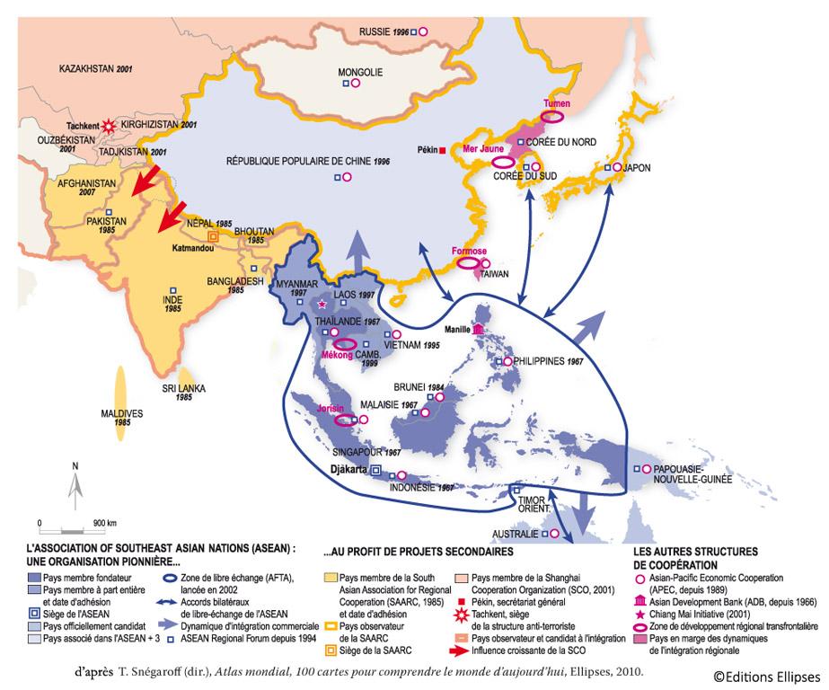 Association sud-asiatique pour la coopration rgionale