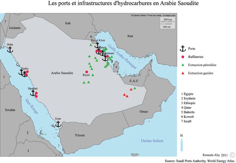 Géopolitique de l'Arabie saoudite Aby-arabie-saoudite-hydrocarbures