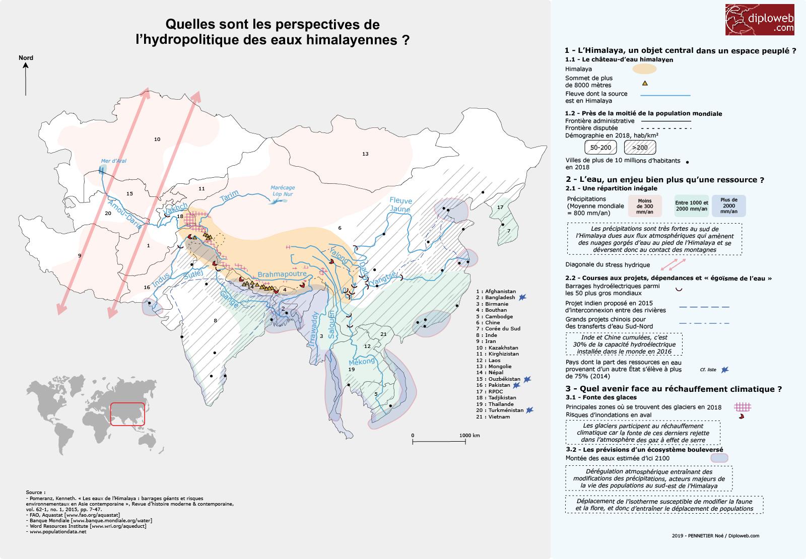 Carte Thailande Climat.Carte Quelles Sont Les Perspectives De L Hydropolitique Des Eaux