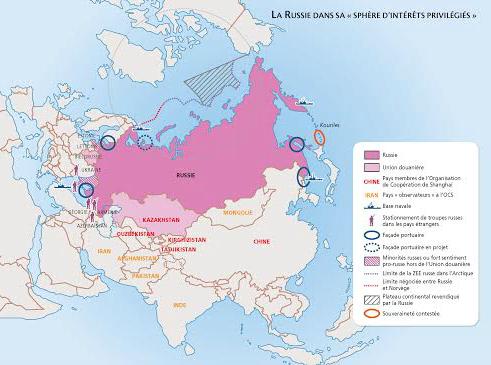 """Résultat de recherche d'images pour """"Russie géopolitique"""""""