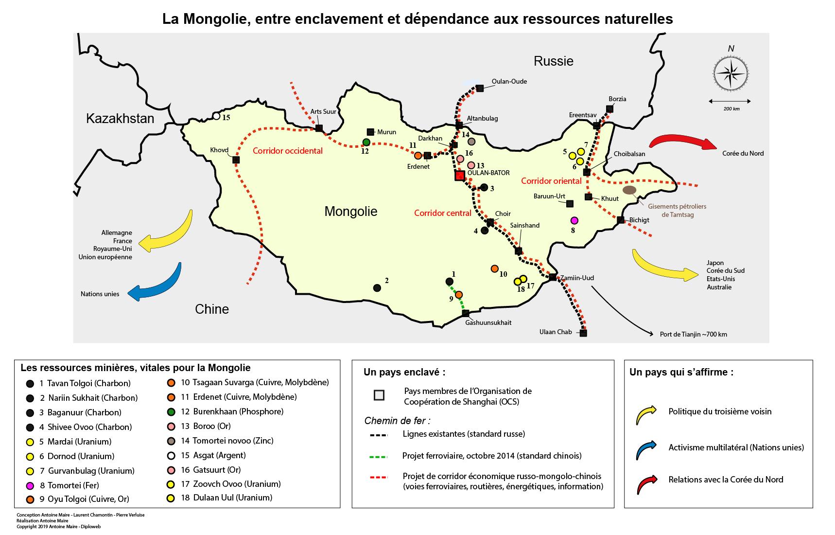 Carte Chine Mongolie.La Mongolie Un Petit Pays Innovant Face A Ses Defis