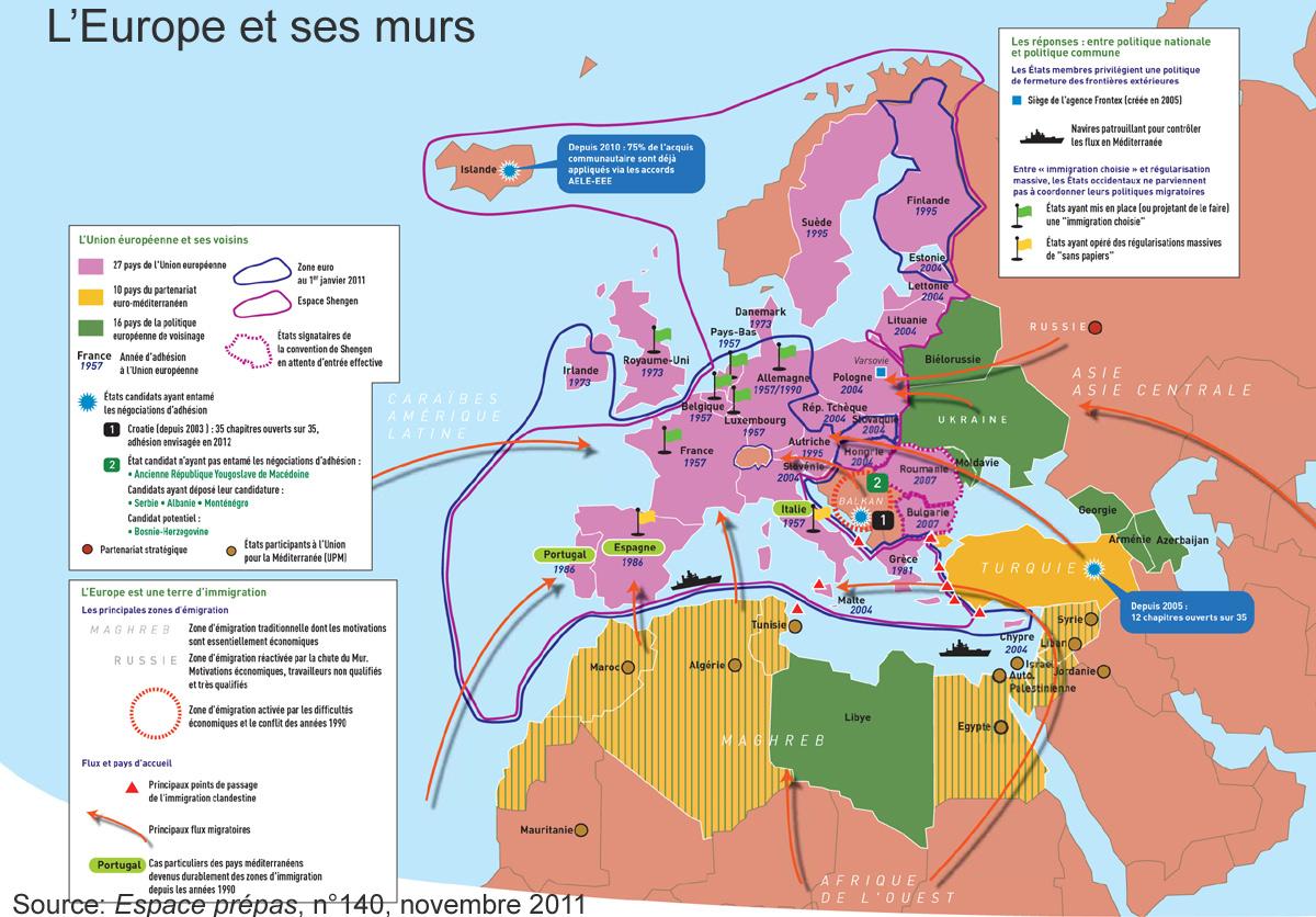 Carte France et Ses Frontieres Carte de L'europe et Ses Murs