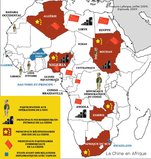 Carte Afrique Onu.Geopolitique De La Chine En Afrique Quelles Realites F