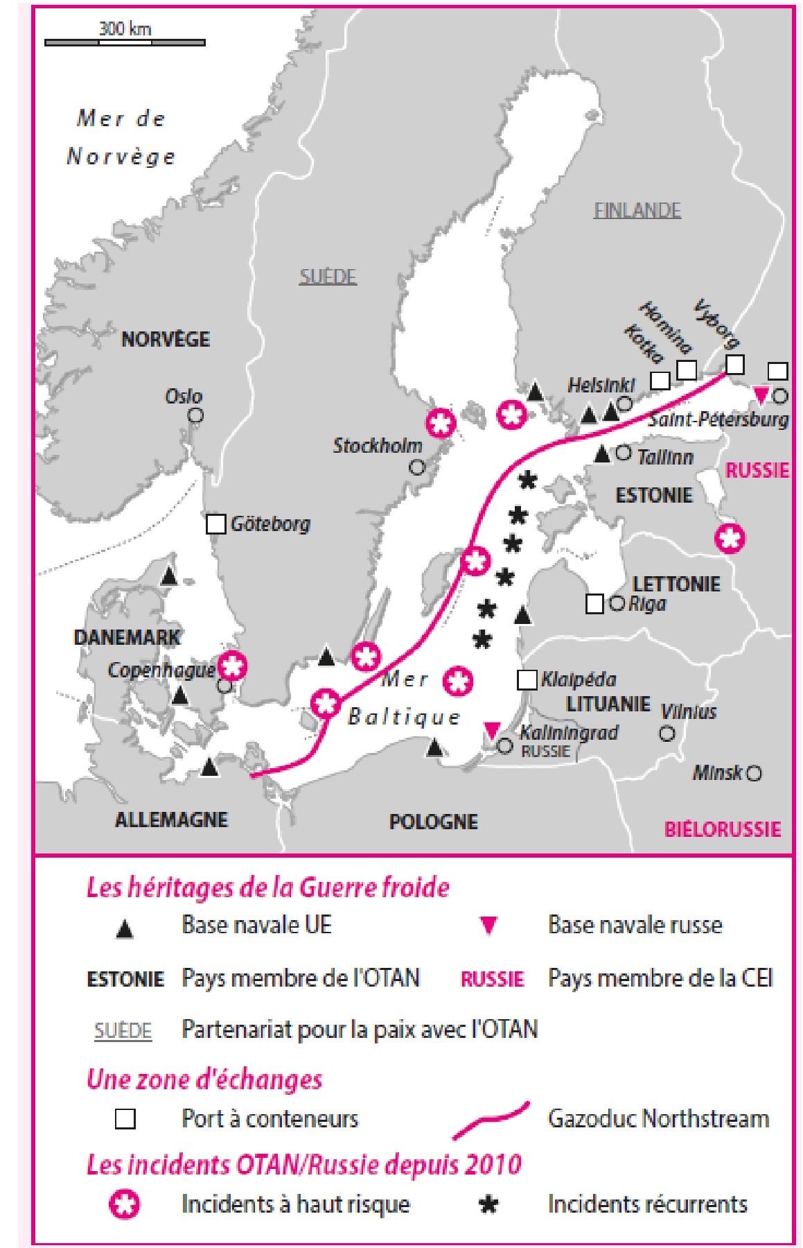 Cartes Mer Baltique De La Mer D Ambre A La Mer D Ombres