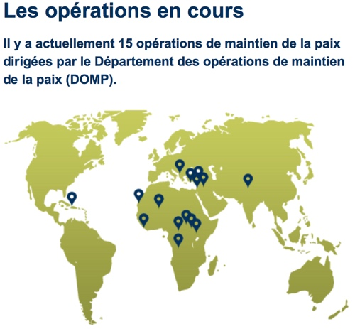Géopolitique du maintien de la paix des Nations Unies
