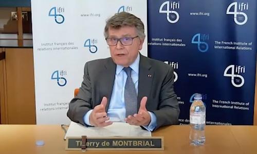 Vidéo. T. de Montbrial (IFRI) Le système international saura-t-il se défendre du virus ?
