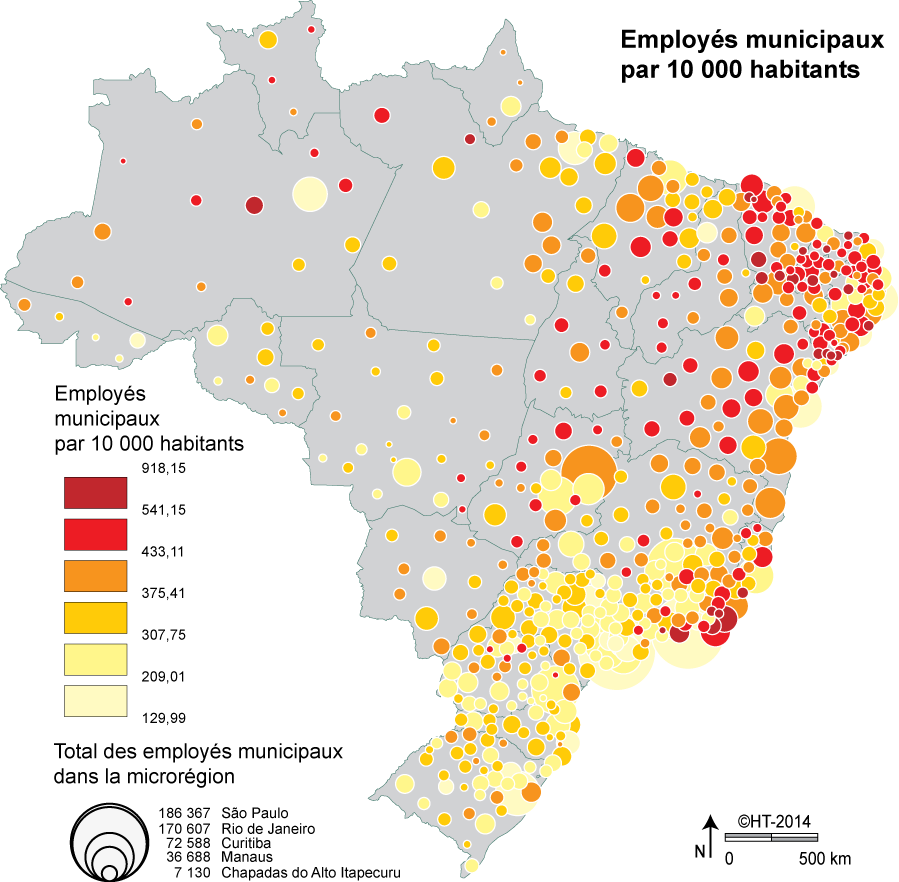 Carte Administrative Bresil.Geopolitique Du Bresil Du Clientelisme Herve Thery