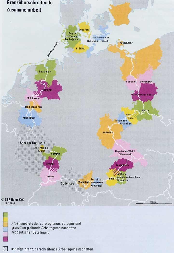 Carte Allemagne Bonn.Diploweb Com Geopolitique Carte Des Euroregions